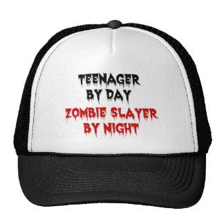 Adolescente del asesino del zombi del día por noch gorros bordados