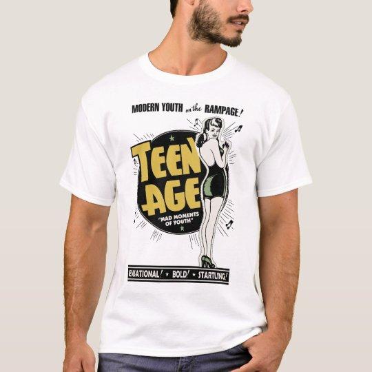 """¡""""Adolescente - juventud moderna en el alboroto! """" Playera"""