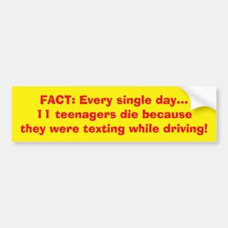 ADOLESCENTES TEXTING DE LOS HECHOS Y PEGATINA PARA PEGATINA PARA AUTO