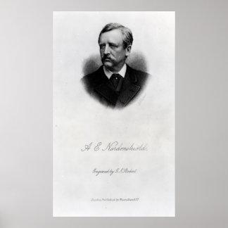 Adolf Erik Nordenskiold, 1880 Poster