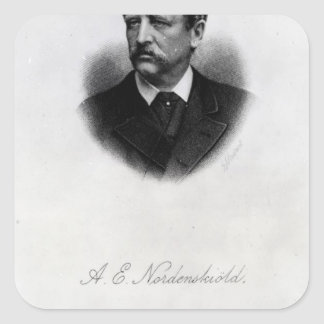 Adolf Erik Nordenskiold, 1880 Square Sticker