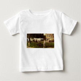 Adolf Menzel - garden scene Baby T-Shirt