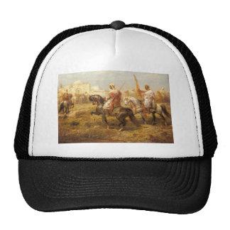 Adolf Schreyer Arab Cavalry Approaching An Oasis Trucker Hat