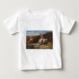 Adolf Schreyer Arab Horseman In A Landscape Baby T-Shirt