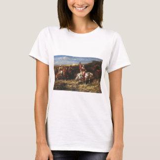 Adolf Schreyer Arab Horseman In A Landscape T-Shirt