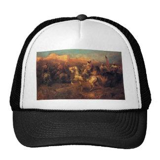 Adolf Schreyer Arab Horsemen On The March Trucker Hat