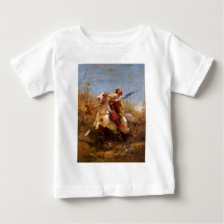 Adolf Schreyer Arab Warrior Leading A Charge Baby T-Shirt