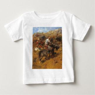 Adolf Schreyer Arab Warriors On A Hillside Baby T-Shirt