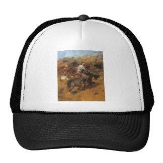 Adolf Schreyer Arab Warriors On A Hillside Trucker Hat