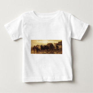 Adolf Schreyer Hitching Horses To The Wagon Baby T-Shirt