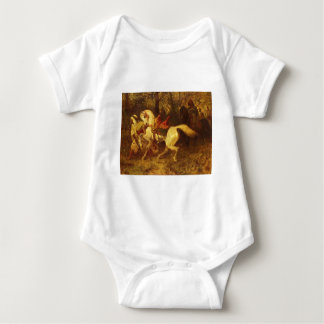 Adolf Schreyer On The March Baby Bodysuit