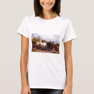 Adolf Schreyer The Watering Place T-Shirt