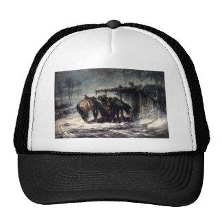 Adolf Schreyer Wallachian Blizzard Trucker Hat