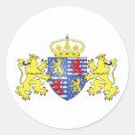 Adolfo Ier de Nassau Luxemburgo, Países Bajos Etiquetas Redondas