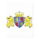 Adolfo Ier de Nassau Luxemburgo, Países Bajos Tarjeta Postal