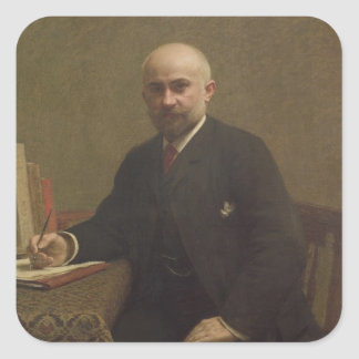 Adolfo Jullien 1887 Pegatina Cuadrada