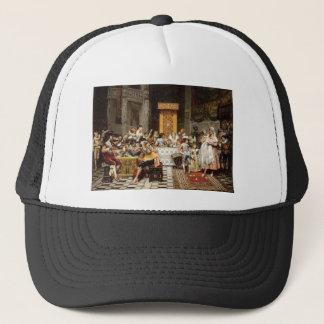 Adolphe Alexandre Lesrel Baptism of the Conde Trucker Hat