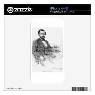 Adolphe Charles Adam, 1850 iPhone 4S Decals