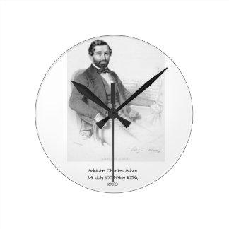 Adolphe Charles Adam, 1850 Round Clock