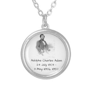 Adolphe Charles Adam, 1850 Silver Plated Necklace