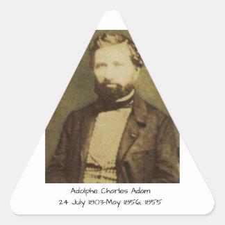 Adolphe Charles Adam, 1855 Triangle Sticker