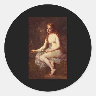Adolphe Jourdan Innocence Classic Round Sticker