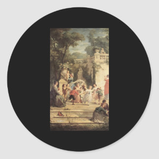 Adolphe Jourdan The Games of Summer Classic Round Sticker