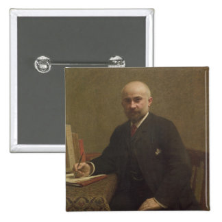 Adolphe Jullien  1887 2 Inch Square Button