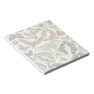 Adolphe Millot Papillons Notepad