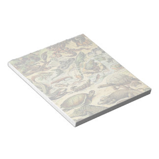 Adolphe Millot Reptiles 2 Note Pad