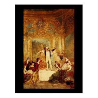 Adolphe Monticelli Une Soiree Chez La Paiva Postcard