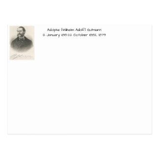 Adolphe (wilhelm Adolf) Gutmann Postcard