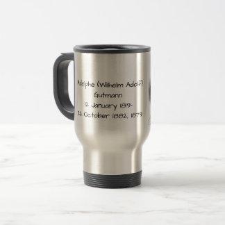Adolphe (wilhelm Adolf) Gutmann Travel Mug