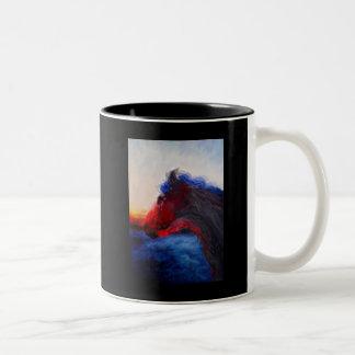 Adolph's Patriot Two-Tone Coffee Mug