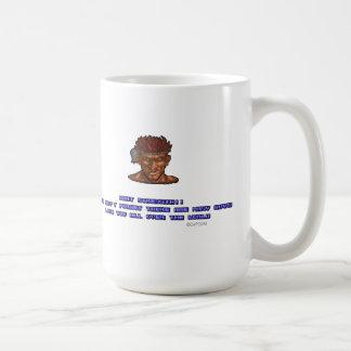 Adon KO'ed Classic White Coffee Mug