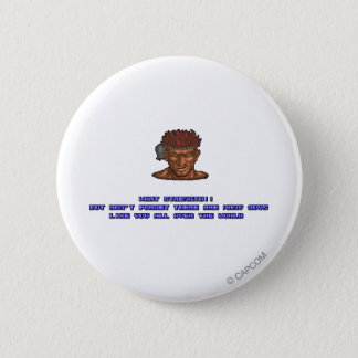 Adon KO'ed Pinback Button