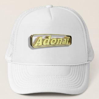 Adonaï2 Gold 3D Trucker Hat