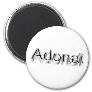 Adonaï4 3D Magnet
