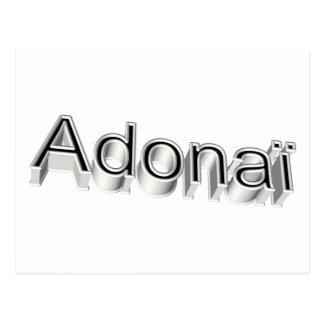 Adonaï4 3D Postal