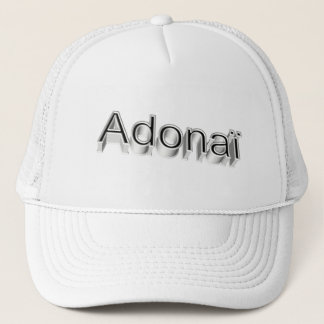 Adonaï4 3D Trucker Hat