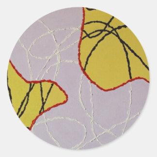 Adonais Classic Round Sticker