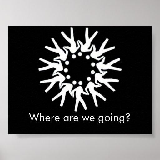¿Adónde vamos? Poster