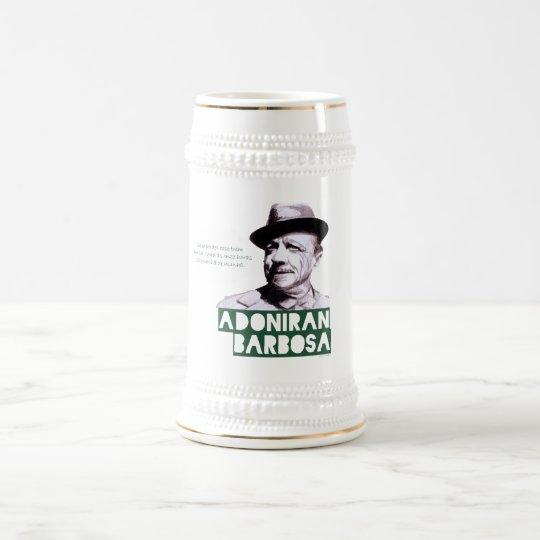 Adoniran tribute beer stein