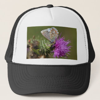 Adonis blue butterfly (Polyommatus bellargus) Trucker Hat