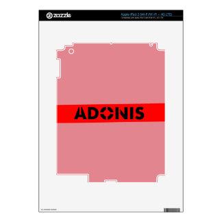 Adonis Greek mythology Decal For iPad 3