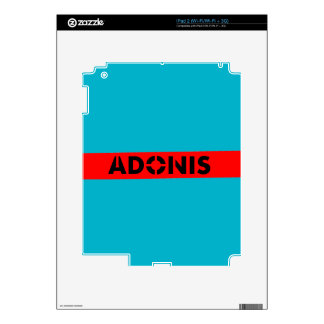 Adonis Greek mythology Decal For The iPad 2