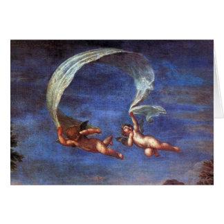Adonis Led by Cupids to Venus Cards