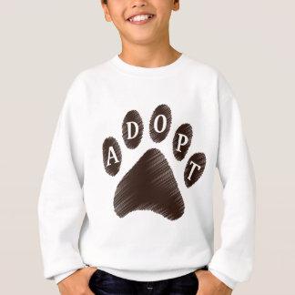 Adopción animal sudadera