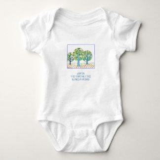 Adopción-Cuando su árbol de familia se convierte Body Para Bebé