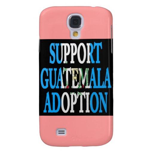 adopción de Guatemala de la ayuda
